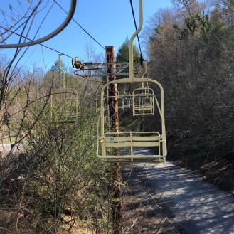 Chairlift to nowhere