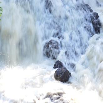 Mill dam downtown Amesbury, MA