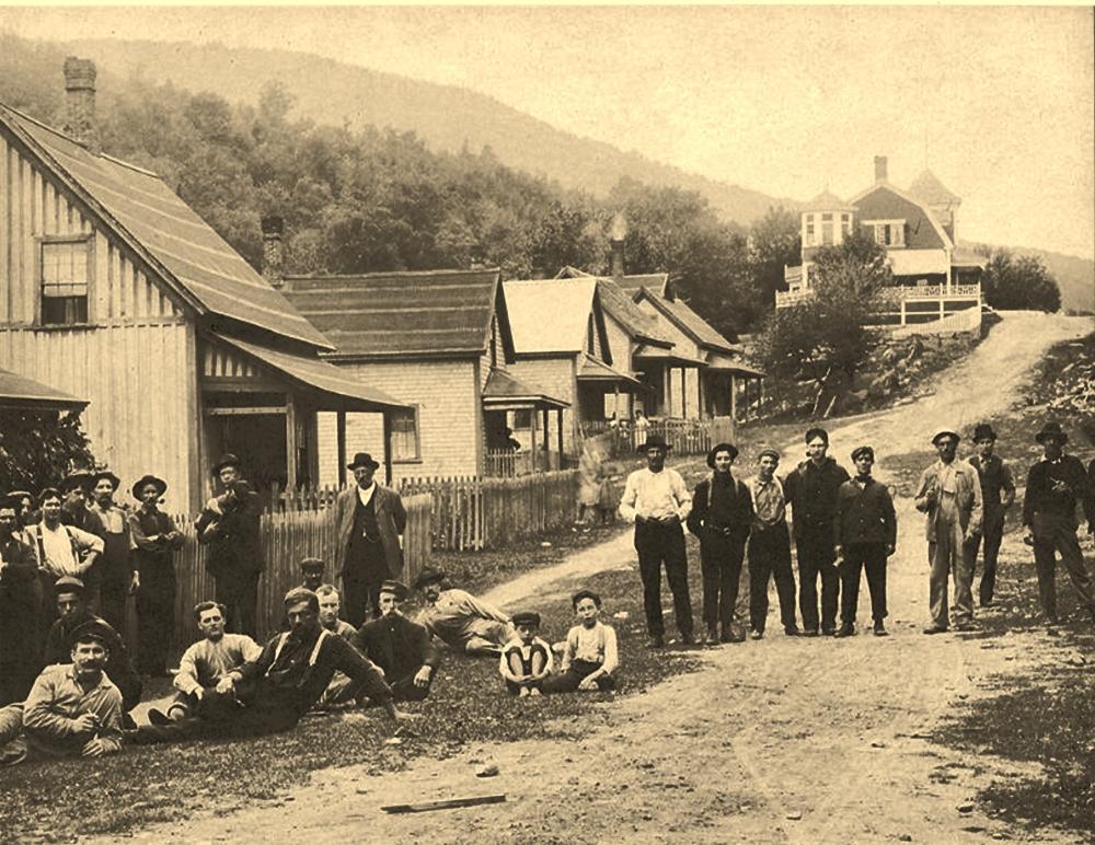 Livermore railroad row